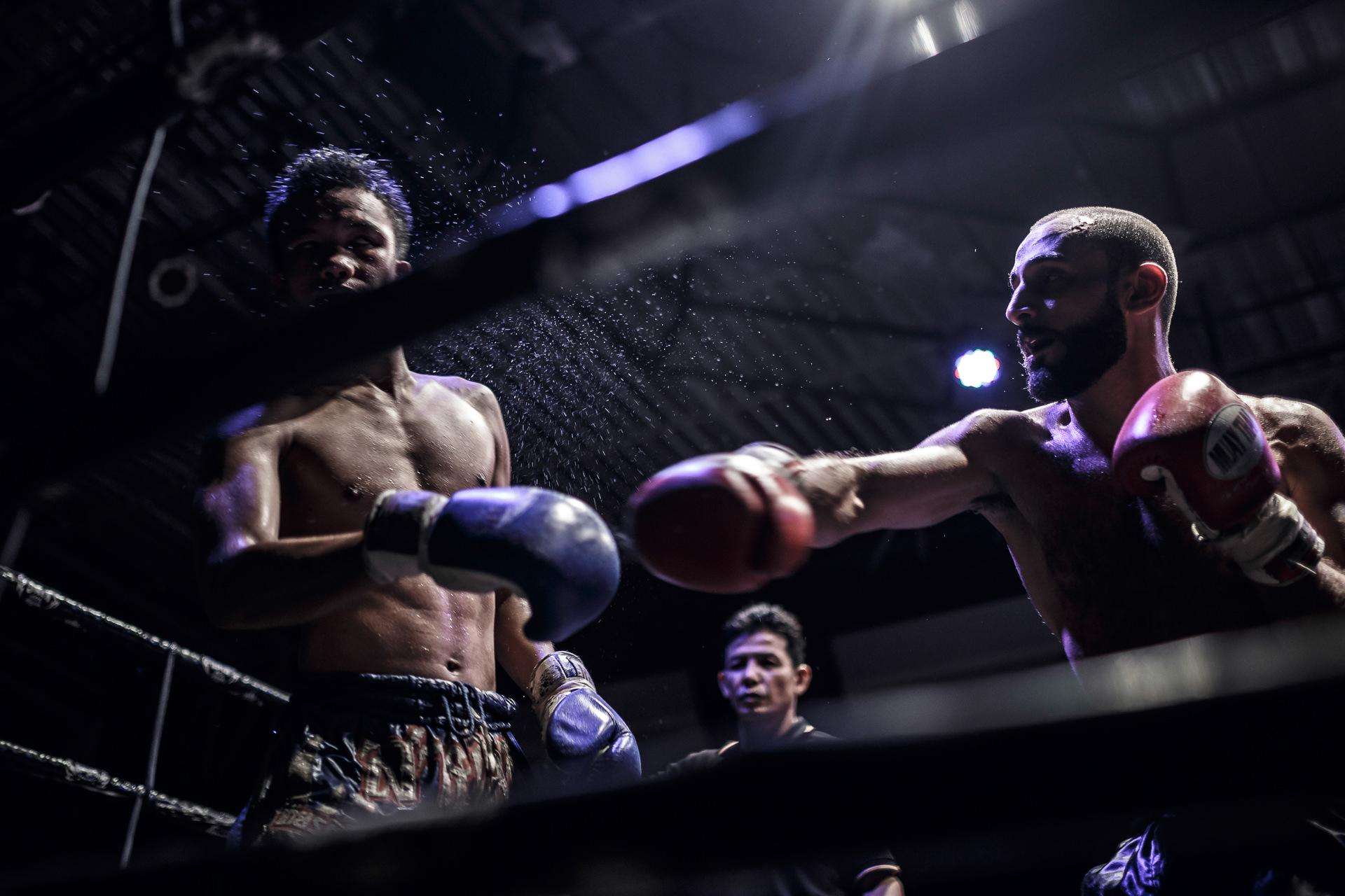 Muay thai fight, Sport Photography