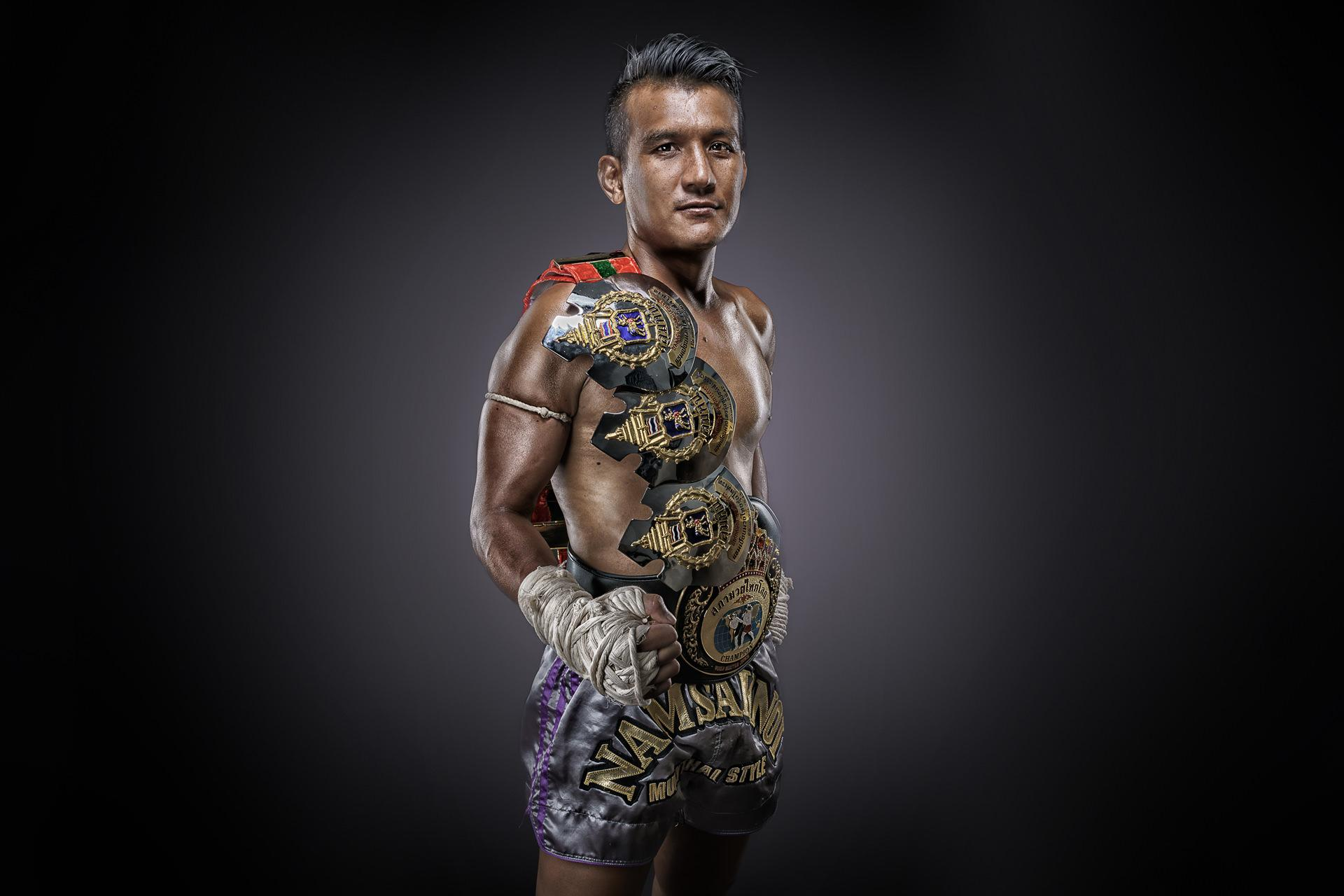 Namsaknoi Muay Thai Champion profile photo in studio